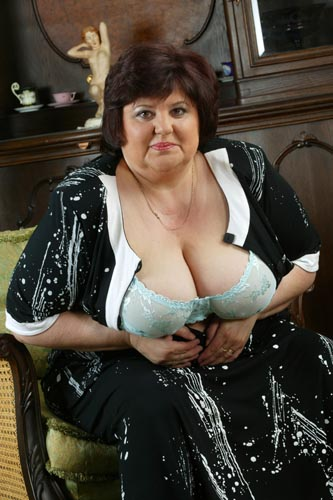big tit mature lady